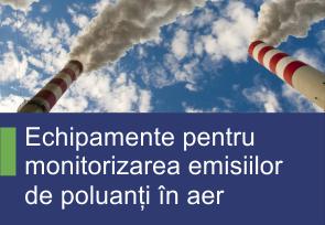 Echipamente pentru monitorizarea emisiilor de poluanti in aer - Produse TehnoINSTRUMENT