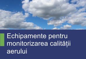 Echipamente pentru monitorizarea calitatii aerului - Produse TehnoInstrument