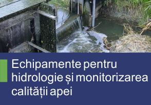 Echipamente pentru hidrologie si monitorizarea calitatii apei - Produse TehnoINSTRUMENT