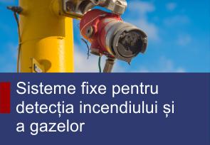 Sisteme fixe pentru detectia incendiului si a gazelor - Produse TehnoINSTRUMENT