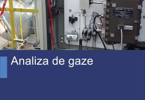 Analiza de gaze - Produse TehnoINSTRUMENT