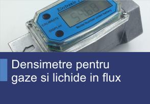 Densimetre pentru gazi si lichide in flux - Produse TehnoINSTRUMENT