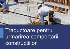 Traductorare pentru urmarirea comportarii construtorilor - Produse TehnoINSTRUMENT
