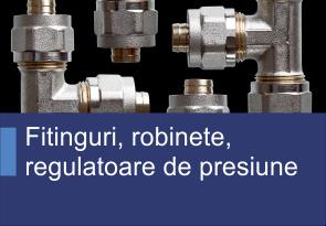 Fitinguri, robinete, regulatoare de presiune - Produse TehnoINSTRUMENT
