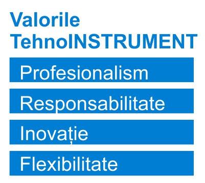 Valorile TehnoINSTRUMENT
