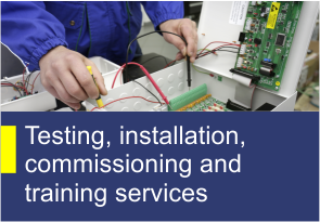 Testing, installation, commissioning and training services - TehnoINSTRUMENT Products