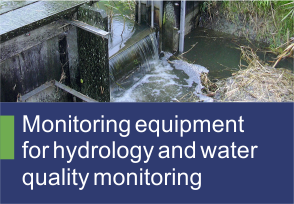 Monitoring equipment for hydrology and water quality monitoring - TehnoINSTRUMENT Products-
