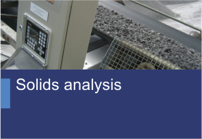 Solids analysis - TehnoINSTRUMENT Products