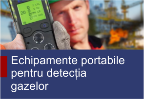 Echipamente portabile pentru detecția gazelor - TehnoInstrument